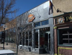 Photo of the retail/restaurant space available on Tennyson St in Denver.